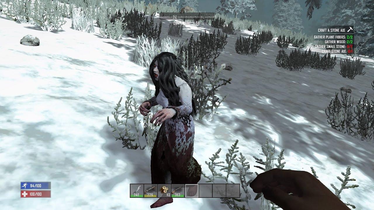 7 days to die заспавнить зомби