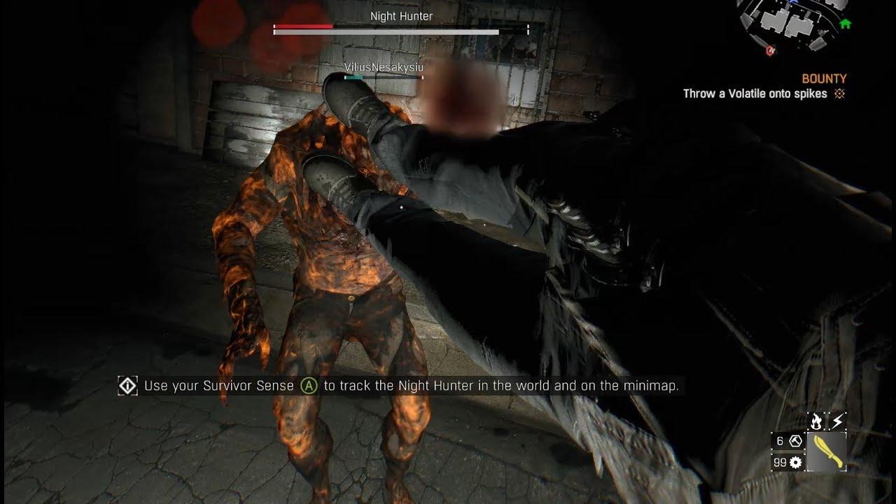 зелье ночного охотника в dying light